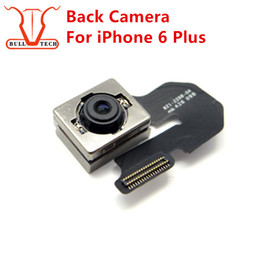Wholesale Iphone Back Lens - Genuine Rear Back Camera Cam Ribbon Lens Flex Cable Cameras Module Spare Part Replacement For iPhone 6 Plus 6plus 5.5 inch