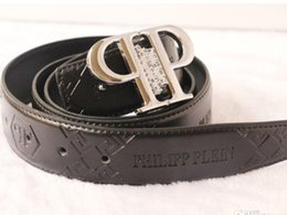 Wholesale Cowhide Belts - Hot Brand P Letter Belt high Quality Genuine Leather Designer Cowhide Q Belts For Mens womens Luxury MC Belts for gift