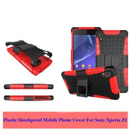 Cas de sony z2 en Ligne-Vente chaude Cas Pour Sony Xperia Z2 Cas TPU En Plastique Antichoc Couverture de Téléphone Mobile Pour Sony Xperia Z2 L50 D6503 D6502