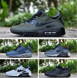 Wholesale Point Surface - Men Sneakers Shoes Classic 90 Men and women Running Shoes Sports Trainer Air Cushion 90 Surface Breathable Sports Shoes 40-45