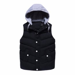 Wholesale Cheap Wholesale Tank Tops Men - Wholesale- YG6077-3 Cheap wholesale 2017 new Loose leisure sleeveless tank top male vest male horse coat jacket