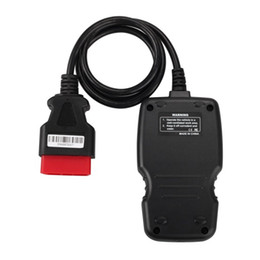 Wholesale hyundai hold - New Arrival OM123 OBD2 EOBD CAN Hand-held Engine Code Reader Blue Color Multi Language