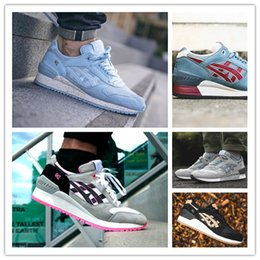 Wholesale Gel Run - Gel Lyte V 5 RESPECTOR Captain America Outdoor 3 Casual Shoes Men And Women Lightweight Breathable Athletic Sneakers size 36-44