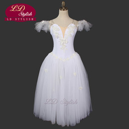 Wholesale Wear Ballet Women - Romantic Tutu Ballerina Dress LD0006D Fairy Ballet Tutu Dance Wear Ballet Costumes Adults Ballet Tutu Dress