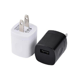 Wholesale Mini Usb Wall Chargers - Finger Print 1A USB AC Wall Charger Home Travel Charger Adapter Mini USB charger For Samsung Iphone Smartphones mp3 pc