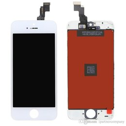 Wholesale Digitizer Iphone Tool White - For iphone 5 5c 5s lcd display digitizer assembly No Dead Pixel Digitizer Assembly Replacement Black or White top quality with tools