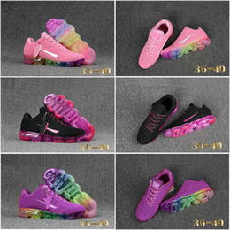 Wholesale Girls Football Hot - Hot Sale Drop Shipping Famous Air Sport 2018 KPU Multi-Color Girls Womens Athletic Sneakers Sports Running Shoes Size 5.5-8.5