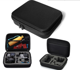 Wholesale Hand Grip Camera - Gopro accessories bag with go pro floating hand grip gopro handlebar for gopro hero 3 go pro HERO3, HERO2, HD HERO Camera