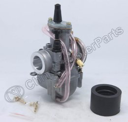Wholesale Scooter Carbs - Wholesale- PWK 21 PWK21 21mm Carb Carburetor For OKO KOSO JOG DIO RTL250 CR80 CR85R CR125 NSR50 NSR80 DT100 125 175 Scooter Dirt bike