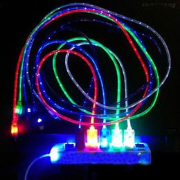 sony ericsson xperia kamera Rabatt 5 farben 1 mt led licht langlebig micro usb kabel ladegerät daten sync kabel für samsung galaxy s3 s4 s5 htc android handy
