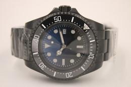 Wholesale Clock - Classic Style Luxury Brand Automatic Movement Watch Men 44mm Black Dial Original Clasp Band Male Clock Montre Homme