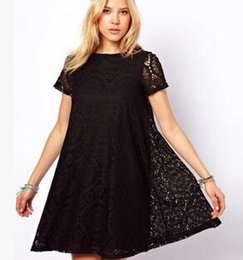 7590e103283 S-XXL 5 colors summer clothes pregnant women maternity maternity clothes  Casual dress knitted lace clothes for pregnant women