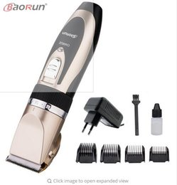 Wholesale Hair Cut Machines - 110-220V Professional Hair Trimmer for Men Baby Electric Hair Clipper Hair Cutting Machine Haircut Ceramic Titanium Blade Cutter