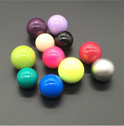 Wholesale Mexican Bola Harmony Ball Wholesale - 16mm Pregnant piano beads Harmony Bola Ball Mexican Chime Ball Baby Pregnancy Sound Balls Beads For DIY Locket Necklace Jewelry