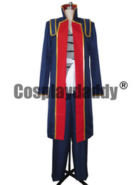 Wholesale Gintama Cosplay - Gintama Shinsuke Takasugi Cosplay Costume