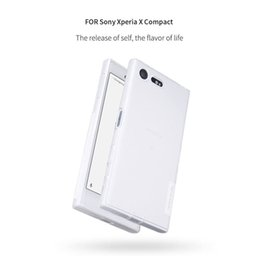 Wholesale Xperia Mini Case - NILLKIN Ultra Thin Transparent Nature TPU Case For Sony Xperia X Compact Clear TPU Soft Back cover for Sony Xperia X mini