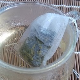 Wholesale Heat Seal Teabags - New 100Pcs Paper Empty Draw String Teabags Heat Seal Filter Herb Loose Tea Bag Pouch