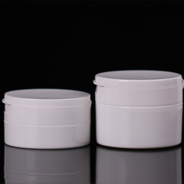 Wholesale Cosmetic Lotion Packages - High Quality 50g 100g Black White Face Cream Box, Empty Lotion Cream Jar with Clamshell Cover, Cosmetic Packaging F2017401