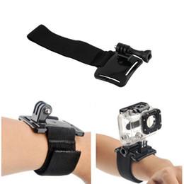 Llegada Buceo Vivienda ajustable Caja de mano de la cámara Correa de muñeca Montaje para Gopro Hero 4 3+ 3 2 1 al por mayor desde fabricantes