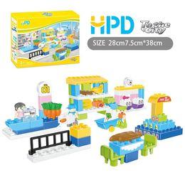 Wholesale Plane Brick Block - Newest 2017 HPD TO DRAW A REAL PLANE Block Boys Toys Girls Gifts Bricks Children Plastics Assemblage Building Blocks Puzzle