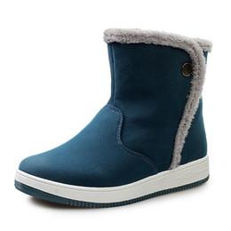 Wholesale Winter Cold Shoe - Wholesale- 2016 New Winter Shoes Men Snow Boots Fashion Men's Boots Warm Cotton Shoes Man Brand Ankle Botas Cold Winter High Quality