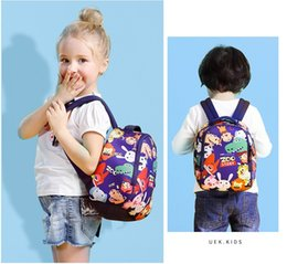 Wholesale Animal Zoo Backpacks - Zoo story Children's School Bag Lovely Cartoon Backpack Children Backpack Kindergarten Girls Boys School bag Top Quality