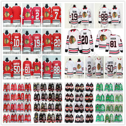 Wholesale Brandon Saad Jersey - 2018 New Season Chicago Blackhawks Hockey Jersey 2 Keith 19 Jonathan Toews Brandon Saad 50 Corey Crawford 81 Marian Hossa 88 Patrick Kane