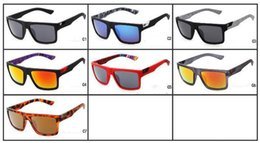 Wholesale Inside Lens - 7 Colors Sports Sunglasses The Danx Hot Sale Driving Goggles Reflective Lenses Inside Temples Printing Wholesale Sun Glasses Fox