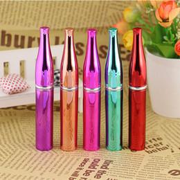 botellas de perfume 8ml Rebajas Botella de aerosol de viaje de perfume 8 ML Botella de perfume de aluminio Recargable Parfum Atomizador Envase Cosmético Vacío F2017374
