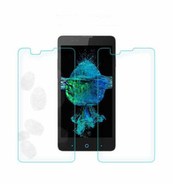Wholesale Hd Cleaner - For ZTE Avid Trio Tempo LG Tribute HD Stylus LS77 Tempered Glass 0.26mm Clear ExplosionProof Screen Protector Film +Clean Tools