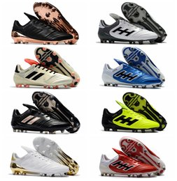 Wholesale Outdoor Soccer Cleats Arrivals - 2017 new arrival original soccer cleats outdoor copa mundial football boots mens soccer shoes Copa 17.1 FG cleats boots football shoes Green