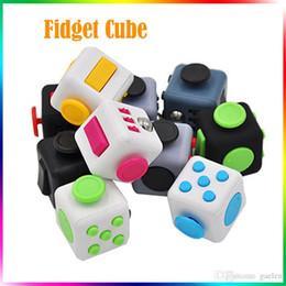 Wholesale Fidget Plush - Fidget Toy Fidget Cube Plush Toy Spinner Switch Ball Finger Cube 6 Sides Decompression Anxiety Toys Beyblade Fidget Toys