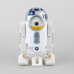 Wholesale Despicable Pvc Figures - Despicable Me Minions Cosplay R2D2 Robot Star Wars Related Toys 20CM Action Figures