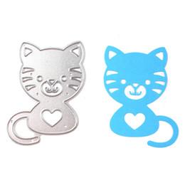 Wholesale New Scrapbook - 2017 new design cat DIY metal cutting dies for Scrapbook Card picture frame envelope decorative steel stencil die