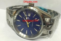 Wholesale aqua blue top - Top High Quality Luxury 007 AQUA TERRA 150M JAMES BOND Co-Axial Automatic Mens Watch 231.10.42.21.03.004 Blue Dial Stainless Steel Watches
