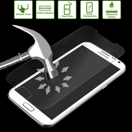 Wholesale Galaxy Note Ii Screen Protector - Link Dream 0.33mm 2.5D Premium Tempered Glass Film Screen Protector for Samsung Galaxy Note II N7100, With Mobile Phone Holder