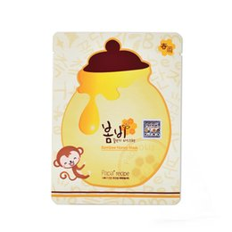 Wholesale Face Mask Papa Recipe Moisturizing Whitening Honey Mask Pack Korea s Skin Care Facial Mask Sheet Suitable for Baby Pregnant box