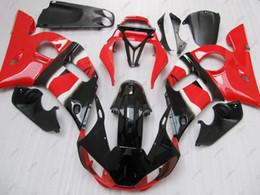 Wholesale Black 99 R6 Fairing Kit - Full Body Kits YZF R6 1998 ABS Fairing for YAMAHA YZFR6 98 99 Red Black Bodywork YZF600 R6 2001 1998 - 2002