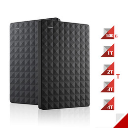 "Wholesale 2tb portable hard drive - Wholesale- Seagate Expansion HDD Disk 4TB 3TB 2TB 1TB 500GB USB 3.0 2.5"" 4TB Portable External Hard Drive HDD for Desktop Laptop Computer"