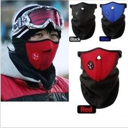 aquecedor de pescoço máscara Desconto Bicicleta Ciclismo Motocicleta Meia Máscara de Rosto Inverno Quente Esporte Ao Ar Livre Máscara de Esqui Passeio Bicicleta Máscara Máscara Snowboard Pescoço Máscaras de Proteção
