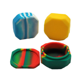 Wholesale Wax Pots - 80 X 80 X 39 Mm Large Silicone Storage Container Multi -Use Dab Oil Wax Shatter Pots,Freezer Jar Airtight