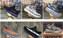Wholesale Girls Winter Boots Discount - 2016 NEW personality 350 v2 Children's Athletic Sports Shoes,Discount cheap Boy girl Sneakers Running Shoe,Kids Boots Footwear Training Shoe