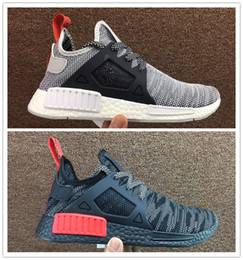 Wholesale Youth Hunting Boots - New Color 2017 NMD XR1 3 rainbow Sneakers Women Men Youth Running Shoes Trainer boost Sneaker Shoes Size: US 5-11