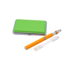 Wholesale E Cigarette V9 Batteries - New product liberty v9 vape pen starter kit ,0.5ml oil tank atomizer 380mah 510 thread battery e cigarette mod