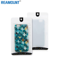Wholesale Cell Phone Case Retail Packaging - 500pcs Plastic Zipper Grind arenaceous Silver Retail Packaging Bag Cell Phone Case For iphone 6s 4.7 5.5 Samsung S5 S6 Note 4