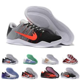 Wholesale Elite Football Boots - 2017 Kobe XI Elite Low Men Basketball Shoes running shoes New Arrival Sneakers Cheap Retro Weaving Sport sneaker kobe Boots Size Eur 40-46
