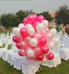 Wholesale Party Happy Birthday - 100pcs Lot 1.5g Pearl Latex Balloons Gold Wedding Decorations Event Party Supplies Baby Shower Happy Birthday Decoration