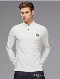 Wholesale Shirt One Size - 2017 brandnew Men's long sleeve round collar stT-shirt one is land T-shirt Size: S, M, L, XL, 2XL,3xl