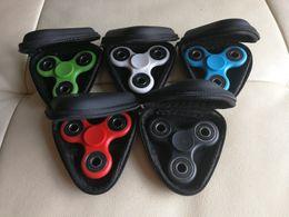 Câbles sous tension en Ligne-Fidget Spinner Pouch Spinner à la main Jouets Stockage direct Sacs Câble à clé Câble Sac de rangement pour carte CD USB Couleur arrière
