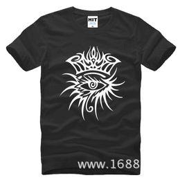 Wholesale Bod Black - Rock Rap BOD dylan loose Mens Men T ShirFashion 2017 New Short Sleeve O Neck Cotton T-shirt Tee Camisetas Hombre